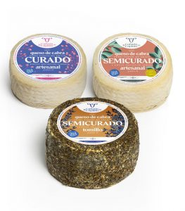 Pack de 3 quesos World Cheese Awards La Cañada del Capitán