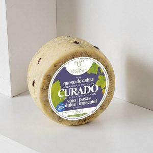 queso-pasas-vino-moscatel
